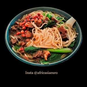 AFRICASIAEURO Chinese menu dishes, IBRAGG, MALTA